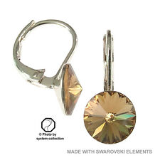 Pendientes con Swarovski Elements, Color: Colorado Topacio
