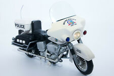 """1960's Vintage 12"""" Metro Police Toy Motorcycle w' Lights & Sounds 