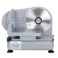 """Segawe 7.5"""" Blade Electric Meat Slicer Cheese Deli Meat Food Cutter Kitchen Home"""
