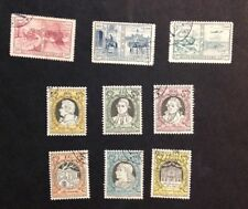 Czechoslovakia 1949, 1956 Two VF Used Complete Sets Catalogs $13.50