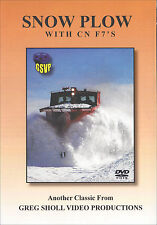 Snow Plow with CN F7's DVD Canadian National Greg Scholl NEW!