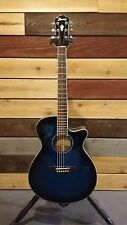Ibanez Acoustic Electric Guitar - Transparent Blue Sunburst - AEG10IITBS