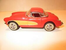 New ListingFranklin Mint Classic Cars Of '50s 1/43 Diecast 1956 V-8 Corvette Convertible
