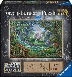 Ravensburger The Unicorn 759 piece Escape Puzzle - Brand new sealed - Ships FREE