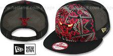 Bulls 'FLORAL CHAIN SNAPBACK' Hats by New Era