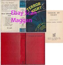 The Not at Night Series Book 10  TERROR BY NIGHT  1st w/ ORIGINAL dj 1935