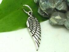 Engelsflügel Anhänger 925 Sterling Silber Charm Engel Flügel Schutzengel