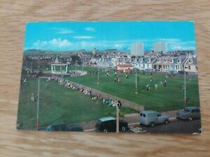 Saltcoats  Melbourne  Park  Colour  Postcard  Circa  1960`s
