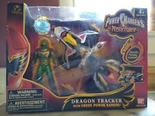 Power Rangers Mystic Force Dragon Tracker With Green Ranger New Dented Box