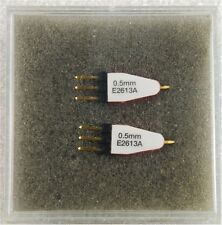 NEW Pair of Agilent E2613A 0.5MM Wedge Probe Adapter for TQFP AND PQFP 3 Signal