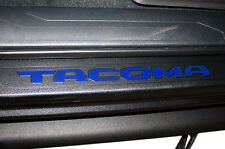 Vinyl Decal Kit for Toyota Tacoma 16-17 Door Sill Letters - Blazing Blue Pearl