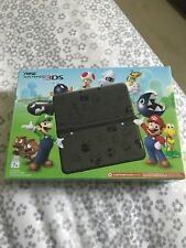 New Nintendo 3DS Mario Edition w/Adapter!!