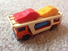 Matchbox Superfast No11 Bedford Car Transporter With Three Cars