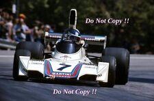 Carlos Reutemann Martini Brabham BT44B español Grand Prix 1975 fotografía 3