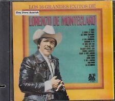 Lorenzo de Monteclaro 16 Grandes Exitos CD New Nuevo