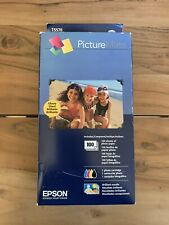 EPSON PictureMate Print Pack Ink Cartridge + Paper T5570 EXPIRED 100 Prints
