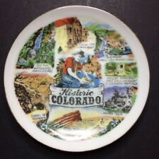 Vintage Thrifco Historic Colorado Decorative Collectible Souvenir Plate 3 7/8""