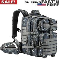 35L Military Tactical Backpack, Army Molle Bag, Small Rucksack for  Camping