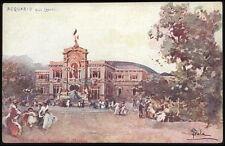cartolina MILANO esposizione 1906 acquario