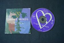 SIMPLE MINDS LOVE SONG ALIVE AND KICKING RARE CD SINGLE IN CARD SLEEVE!
