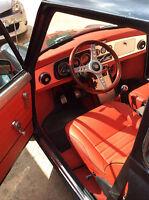 Conception des tuyaux de chauffage de l'intérieur - Mini Austin Rover Cooper