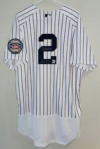 Derek Jeter HOF 2020 Signed New York Yankees Nike Authentic MLB Jersey FANATICS