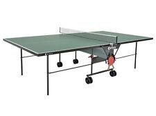 Tischtennisplatte outdoor Sponeta S 1-12e grün mit Netz wetterfest Frei Haus