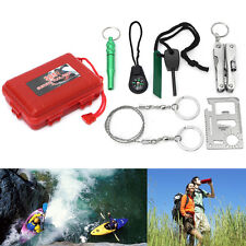 Multifunction Survival Tools Kit Durable SOS First Aid Tool Kit Car Emergency