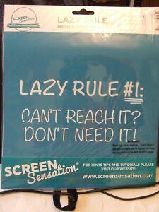 NEW! SCREEN SENSATION 12x12 SCREEN LAZY RULE FUN! COST £19.99