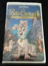 VHS French Movie La Belle et le Clochard II L'aventure de Scamp ! Walt Disney