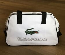 🙀NEW Lacoste Fragrance with Crocodile Duffle Bag Weekender Gym Tote  Stylish