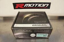 Dixcel 242 mm Arrière Disques De Frein Brake Rotors paire Honda 4x100 Civic EK EG EF CRX