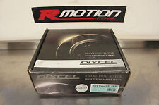 Dixcel 242mm Rear Brake Discs Brake Rotors Pair Honda 4x100 Civic EK EG EF CRX