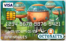 Octonauts Novelty Plastic Credit Card