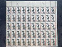 USA Briefmarken Bogen 50x 5 Cent 1963 City Mail Delivery #26498-S