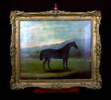 EARLY 19th C. SAMUEL SPODE HORSE PAINTING - ENGLISH SPORTING ART - VOLTIGEUR