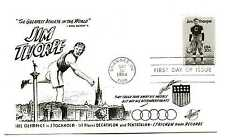 2089 Jim Thorpe Hunt cachet, (track), FDC