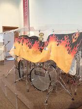 Drum Shields/Drum Panels  Six  - 2 ft. x 4ft. Panels w/ Deflectors  5ft Tall