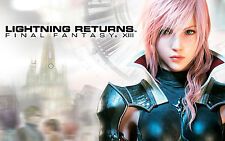 Final Fantasy Lightning Returns 34in x 22in - Shipped in Tube - POSTER