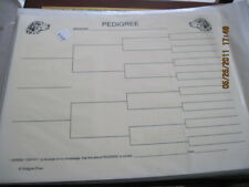 Catahoula Blank Pedigree Sheets Pack 10
