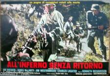 fotobusta '69 ALL'INFERNO SENZA RITORNO-Mission Death-Jim Brewer-James McLarty-1