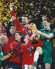 FERNANDO TORRES CHELSEA SPAIN WORLD CUP 2014 SIGNED AUTOGRAPH 8X10 PHOTO COA