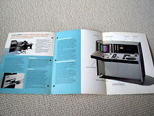MAKE OFFER - Ampex, EDM-1 video editing console brochure