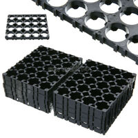 10Pcs 18650 Battery 4x5 Cell Spacer Radiating Shell Pack Plastic Heat Holder New