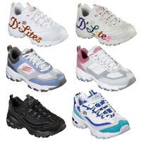 Skechers D'Lites Women's Platform Chunky Fashion Trainers Sizes UK 4 - 7