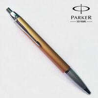 Perfect Parker IM Series Champagne Silver Clip 0.5mm Fine Nib Ballpoint Pen