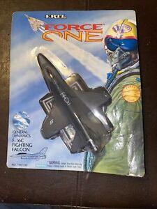 Vintage 1993 ERTL Force One Fighting Falcon F-16C Eagle Die-cast Metal Replica