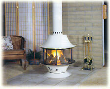 """Malm Spin a Fire 32"""" diameter Wood / Gas Unit Free Standing Fireplace"""