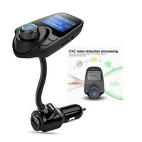 In-car Wireless Bluetooth FM Transmitter Handsfree Car Kit T10 with USB Charger