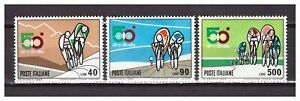 ITALIA 1967 MNH  Nuovi Cycling 3v  s27497